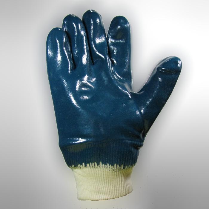Azul Tama/ño 8 Protecci/ón mec/ánica Ansell Hycron 27-600//8 Repelente al aceite guante bolsa de 12 pares